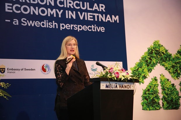 Vietnam por adquirir experiencias de Suecia en impulso de economia circular hinh anh 2