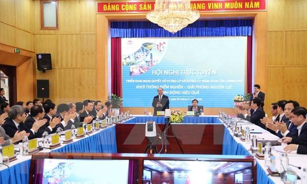 Exige premier vietnamita prestar atencion en aprovechar ventajas de la cuarta revolucion industrial hinh anh 1