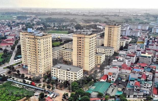 Proyectos infraestructurales impulsan mercados inmobiliarios en Este de Hanoi hinh anh 1