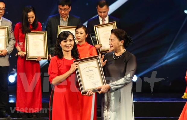 Vietnamplus consolida prestigio en Premio Nacional de Informaciones para el Exterior de Vietnam hinh anh 1