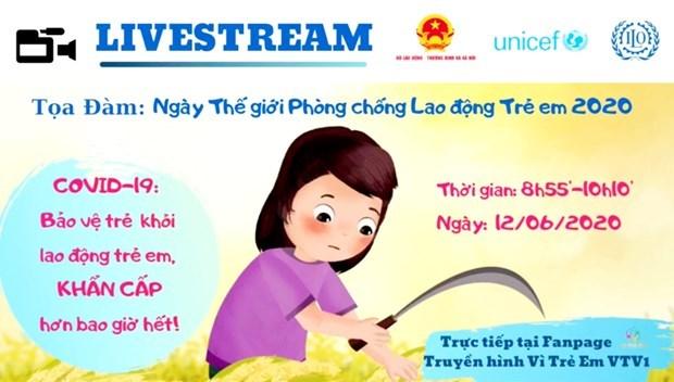 Vietnam refuerza lucha contra riesgos de trabajo infantil a causa de COVID-19 hinh anh 2