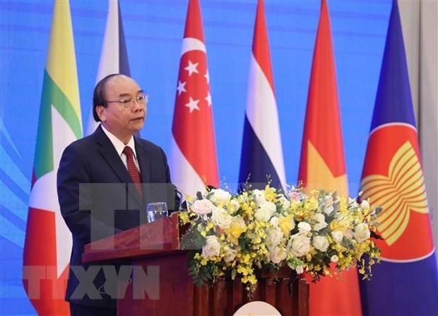 Inauguran en Hanoi XXXVII Cumbre de la ASEAN en forma virtual  hinh anh 2