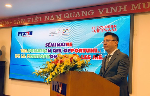 Debaten en Hanoi divulgacion de imagen de comunidad francofona entre vietnamitas hinh anh 1