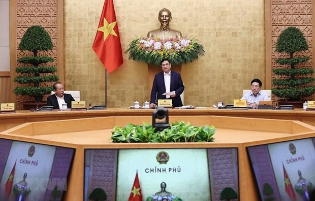 Gobierno de Vietnam debate orientaciones para desarrollo nacional hinh anh 1