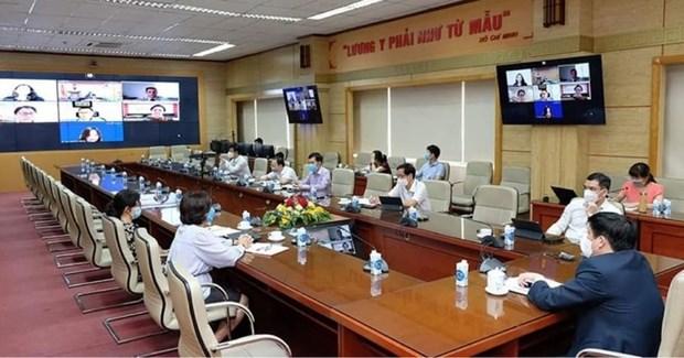 Propone Vietnam apoyo de empresa de EE.UU. a produccion de vacunas hinh anh 1