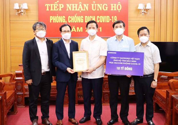 Propone Vietnam apoyo de empresa de EE.UU. a produccion de vacunas hinh anh 3