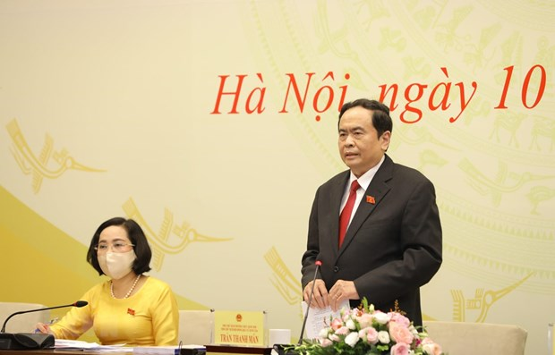 Anuncian listado de diputados del Parlamento de Vietnam de XV legislatura hinh anh 1