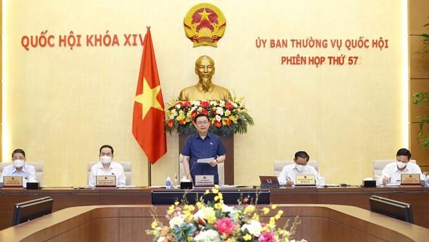 Sesiona reunion 57 del Comite Permanente del Parlamento vietnamita hinh anh 1
