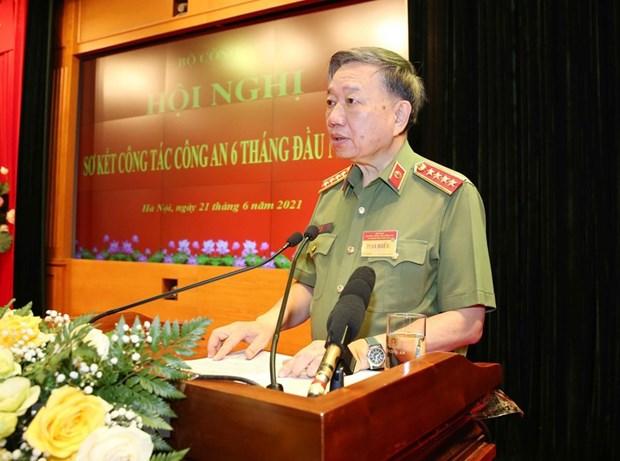 Presidente de Vietnam exige esfuerzos para reducir casos delictivos hinh anh 2