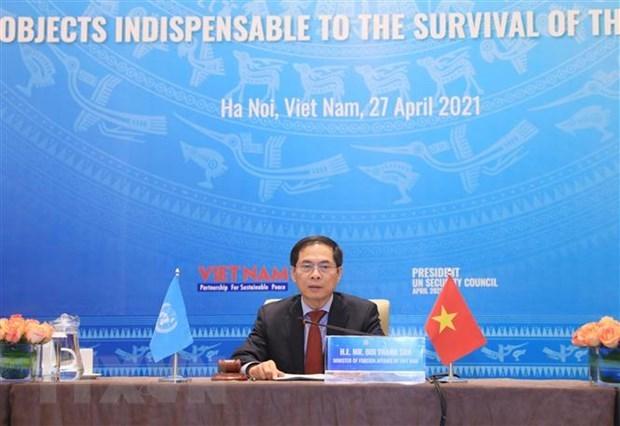 Exito de Vietnam en Mes presidencial de CSNU: impronta de un miembro responsable hinh anh 7