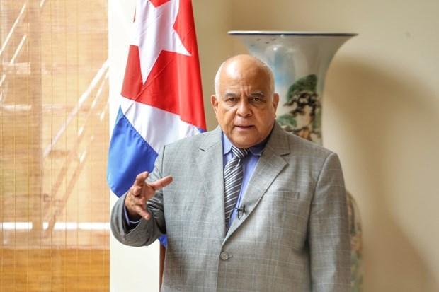 Embajador resalta solidaridad efusiva de Vietnam a Cuba hinh anh 1