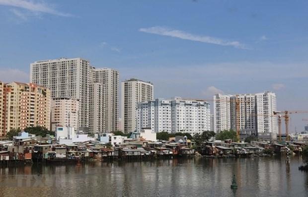 Mercado inmobiliario de Ciudad Ho Chi Minh enfrenta dificultades debido a COVID-19 hinh anh 1