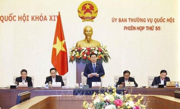 Comite Permanente del Parlamento vietnamita efectuara manana su reunion 56 hinh anh 1