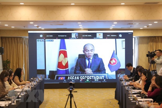 Inician itinerario de cumplimiento de Declaracion de Hanoi sobre impulso de trabajo social hinh anh 1