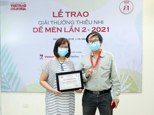 """Premio """"De Men"""" y la conciencia sobre la literatura infantil hinh anh 2"""