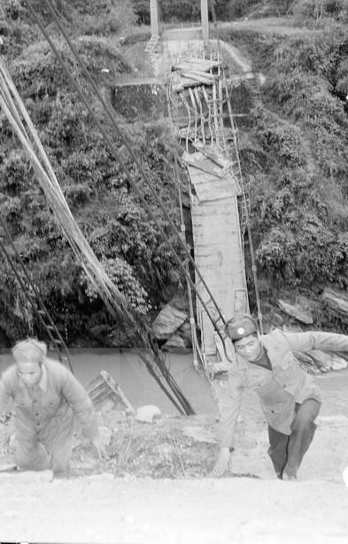 [Fotos] Imagenes de la guerra de defensa en las fronteras nortenas de Vietnam hace 40 anos hinh anh 7