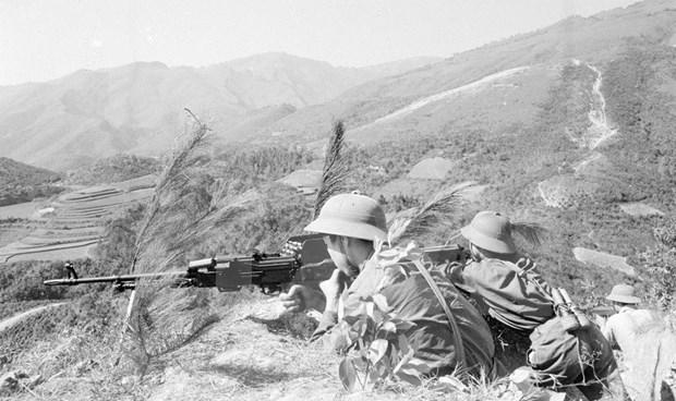 [Fotos] Imagenes de la guerra de defensa en las fronteras nortenas de Vietnam hace 40 anos hinh anh 10