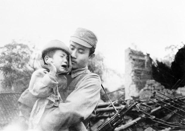 [Fotos] Imagenes de la guerra de defensa en las fronteras nortenas de Vietnam hace 40 anos hinh anh 11
