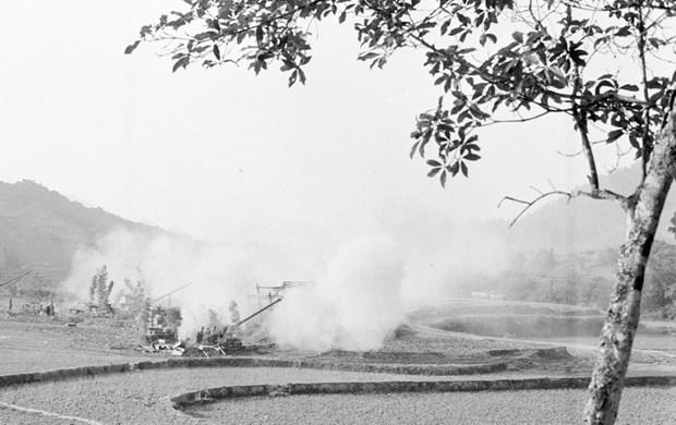 [Fotos] Imagenes de la guerra de defensa en las fronteras nortenas de Vietnam hace 40 anos hinh anh 1