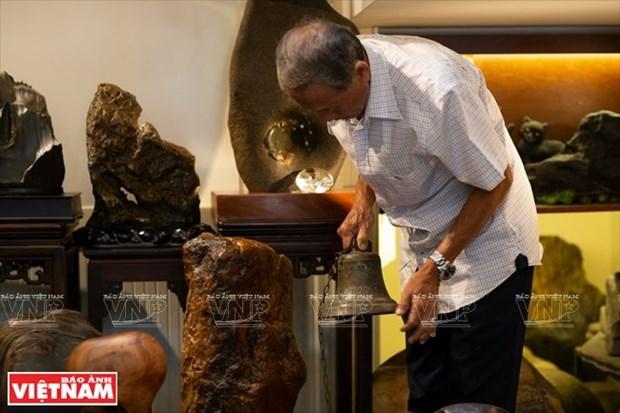 [Fotos] Bui Duc Tam, coleccionista de campanas en Ciudad Ho Chi Minh hinh anh 2