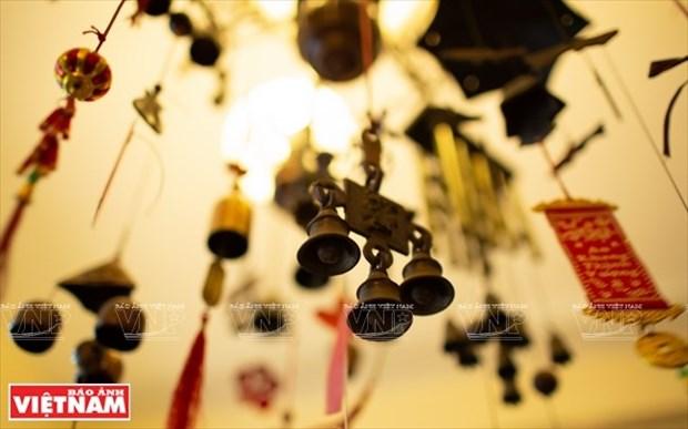 [Fotos] Bui Duc Tam, coleccionista de campanas en Ciudad Ho Chi Minh hinh anh 6