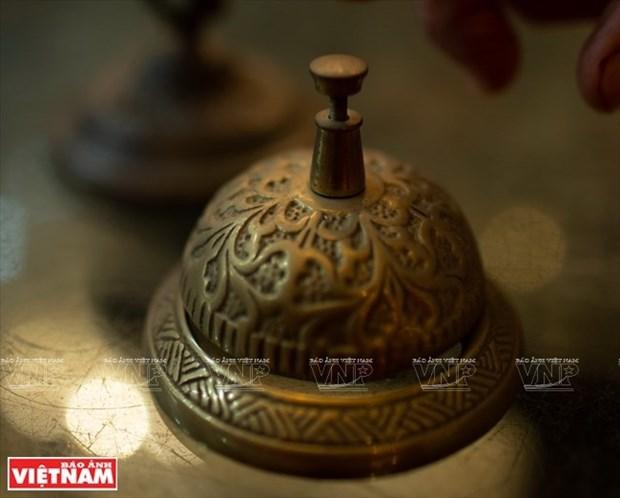 [Fotos] Bui Duc Tam, coleccionista de campanas en Ciudad Ho Chi Minh hinh anh 8