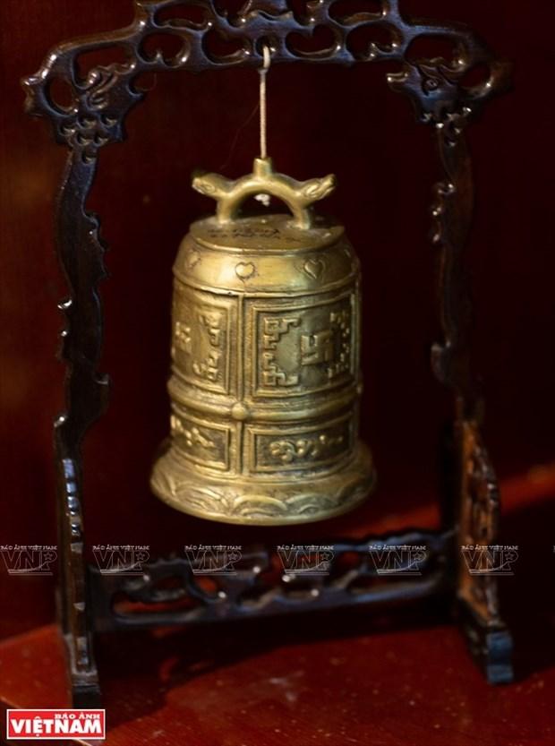 [Fotos] Bui Duc Tam, coleccionista de campanas en Ciudad Ho Chi Minh hinh anh 15