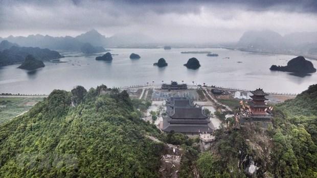 [Fotos] Pagoda Tam Chuc, dispuesta a celebrar el Dia de Vesak 2019 de la ONU hinh anh 4