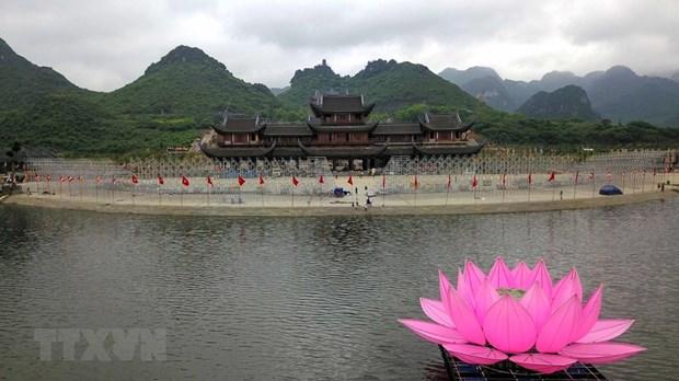 [Fotos] Pagoda Tam Chuc, dispuesta a celebrar el Dia de Vesak 2019 de la ONU hinh anh 5