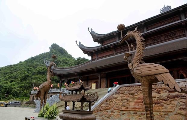 [Fotos] Pagoda Tam Chuc, dispuesta a celebrar el Dia de Vesak 2019 de la ONU hinh anh 8