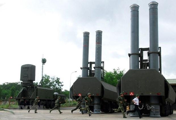 [Fotos] Fuerzas marinas vietnamitas, listas para defender soberania nacional hinh anh 18