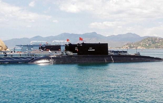 [Fotos] Fuerzas marinas vietnamitas, listas para defender soberania nacional hinh anh 4