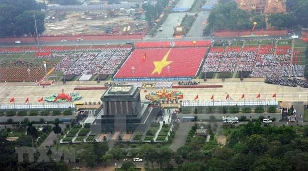[Foto] En recuerdo al Dia de Independencia Nacional hinh anh 1