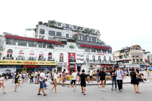 [Foto] Las calles peatonales en el casco antiguo de Hanoi en la Fiesta Nacional hinh anh 5
