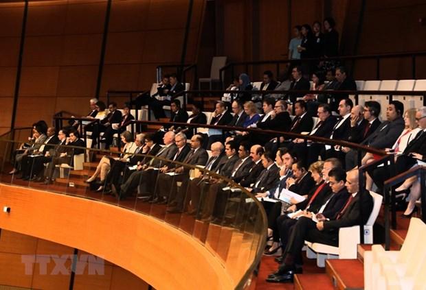 [Foto] Imagenes de la inauguracion de octavo periodo de sesiones de Asamblea Nacional de Vietnam hinh anh 8