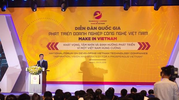 'Make in Vietnam' ayudara a Vietnam a prosperar y lograr una paz duradera hinh anh 1
