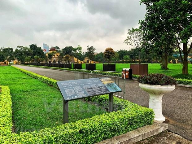 [Foto] Cierran iconicos sitios turisticos de Hanoi por COVID-19 hinh anh 4