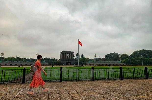 [Foto] Cierran iconicos sitios turisticos de Hanoi por COVID-19 hinh anh 5