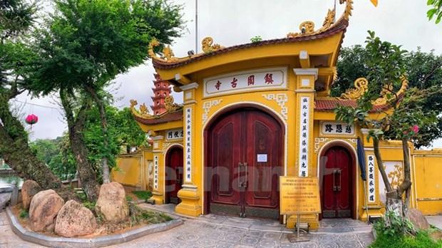 [Foto] Cierran iconicos sitios turisticos de Hanoi por COVID-19 hinh anh 6