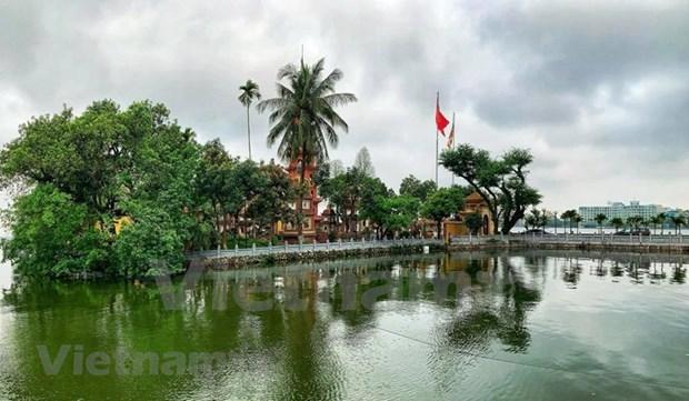 [Foto] Cierran iconicos sitios turisticos de Hanoi por COVID-19 hinh anh 7