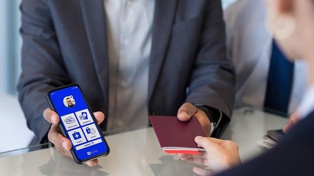 Pasaporte sanitario electronico: Clave para reabrir vuelos internacionales hinh anh 1