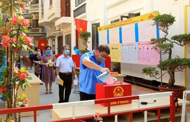 Exito de las elecciones legislativas en Vietnam gracias al poder del pueblo hinh anh 1