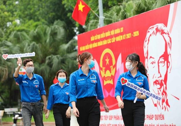 Exito de las elecciones legislativas en Vietnam gracias al poder del pueblo hinh anh 2