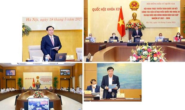 Exito de las elecciones legislativas en Vietnam gracias al poder del pueblo hinh anh 6