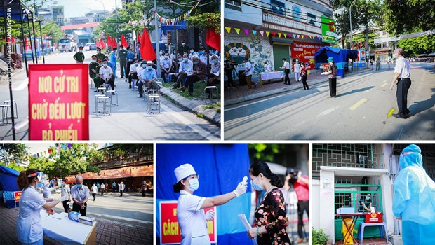 Exito de las elecciones legislativas en Vietnam gracias al poder del pueblo hinh anh 5