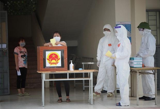 Exito de las elecciones legislativas en Vietnam gracias al poder del pueblo hinh anh 4