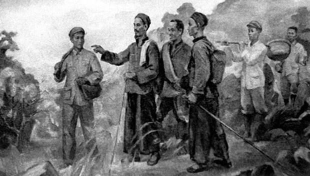 Recuerdan viaje del Presidente Ho Chi Minh para buscar el camino de la salvacion nacional hinh anh 5
