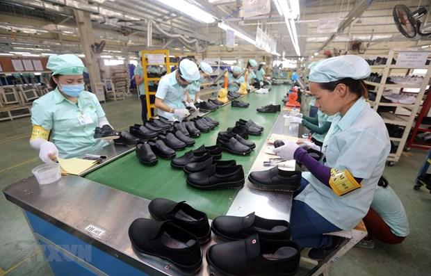 Buscan soluciones para sector de calzado de Vietnam en medio del COVID-19 hinh anh 1