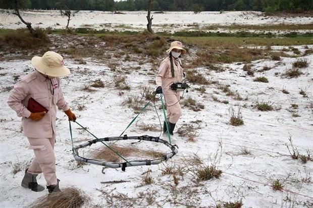 Quang Tri apunta a convertirse en primera provincia vietnamita a estar a salvo a artefactos sin detonar hinh anh 1