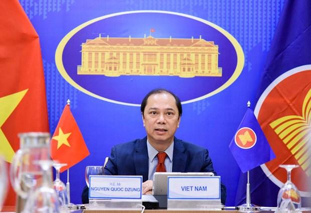 Exhorta Vietnam a mejorar eficiencia del Foro regional de la ASEAN hinh anh 1